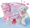 My First Teddy Bear Gift Basket Deluxe