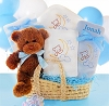 New Arrival Moses Baby Gift Basket-Boy