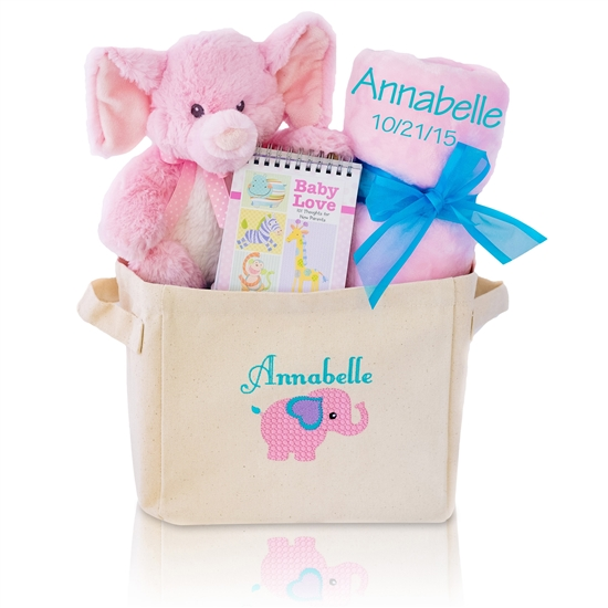 New Baby Girl Gift Hamper