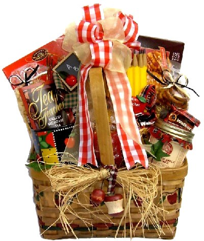 Nostalgic Flair: Teacher Gift Basket