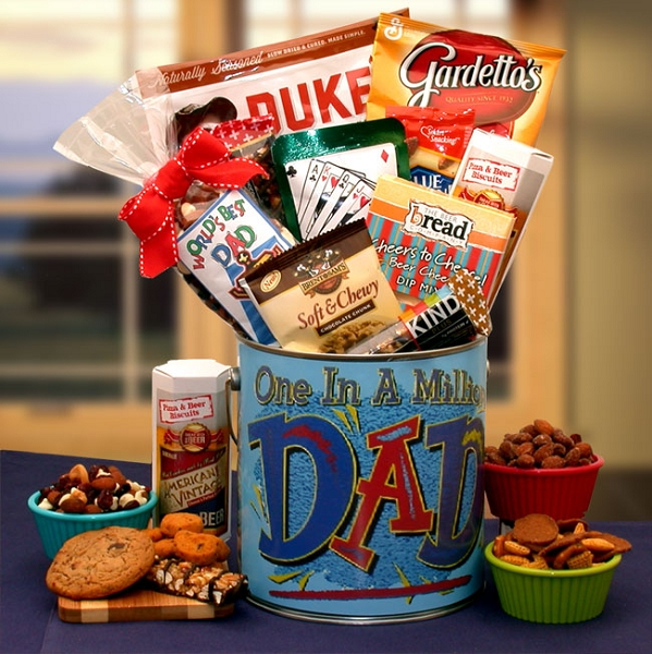 One In A Million Dad: Father's Day Gift Basket