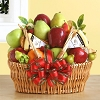 Organic Fruit and Cheese Gift Basket