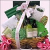Organic Spa Luxuries: Mint Rosemary Birthday Spa Gift Basket