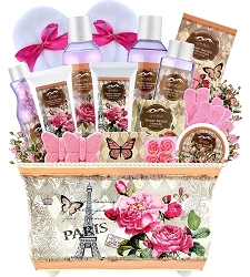 Deluxe Flower Garden Spa Gift Basket