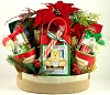 Peace On Earth: Gourmet Holiday Gift Basket