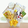 Peanuts Gang: Baby Welcome Gift Basket