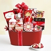 Peppermint Holiday Spa Gift Basket