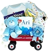 Personalized Baby Welcome Wagon For Boys