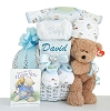 Personalized Miracle Baby: Baby Boy Gift Basket