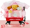Personalized Radio Flyer Wagon: Baby Girl