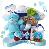 Personalized Welcome Baby Boy Gift Basket