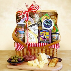 Classic Collection Cheese Picnic Gift Basket