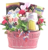 Pink Hearts: Valentines Gift Basket for Her