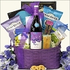 Pinot Noir Gourmet & Red Wine Gift Basket