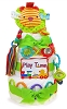 Play Time Baby Diaper Cake