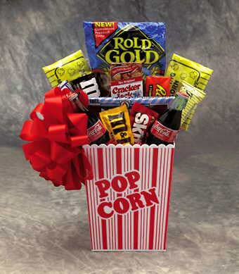 Popcorn Favorite Gift Basket Large