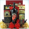 Rolling Stones Merlot: Father's Day Wine Gift Basket