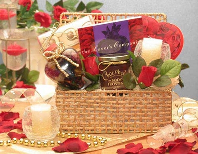 Romantic Interlude Evening Gift Basket