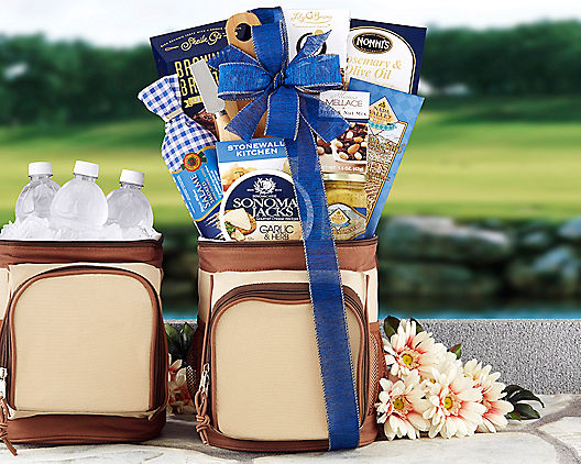 Royal On The Green Gift Basket