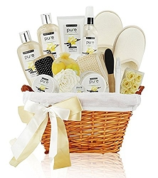 Deluxe Blissful Sandalwood & Vanilla Spa Gift Basket