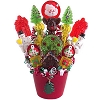 Santa's Christmas Candy Bouquet