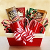 Santa's Themed Gift Basket