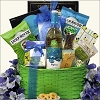 Sauvignon Blanc Snacks & Wine Gift Basket