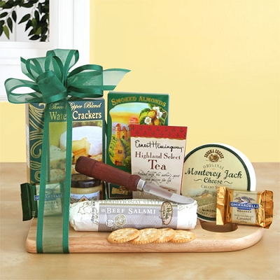 Savory Delights: Gourmet Meat & Cheese Gift