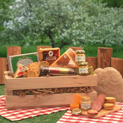 Savory Sausage & Cheese Crate