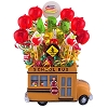 School Bus Lollipop Bouquet