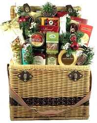 Sensational Seasons Greetings: Deluxe Holiday Gift Basket