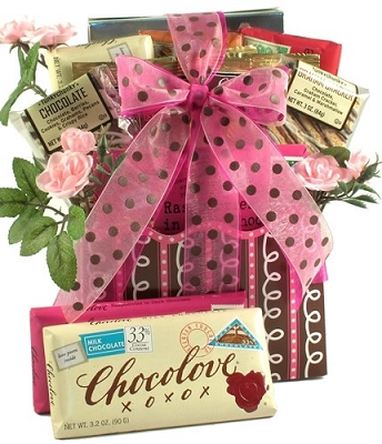 Share The Love Romantic Gift Basket