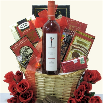 Skinny Girl: California Wine Gift Basket