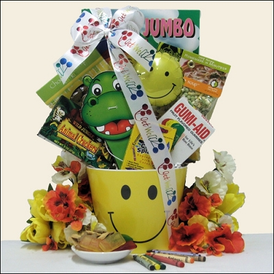Smile! Kid's Get Well Gift Basket