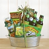 Snacks and Beer: Gift Basket For Dad
