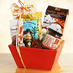 South Of The Border: Fiesta Food Gift Basket