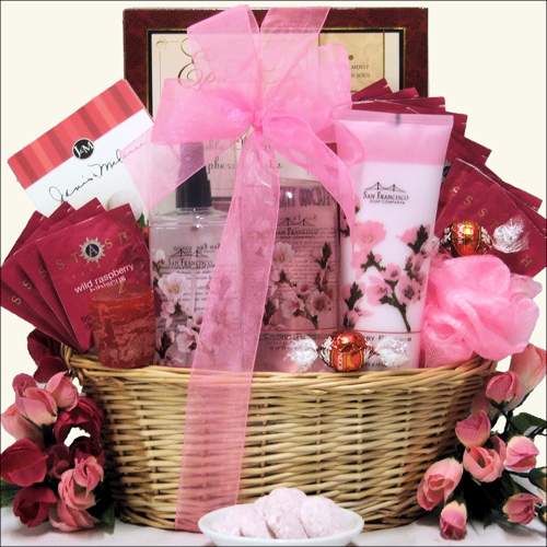 Spa Bliss: Bathtime Spa Gift Basket