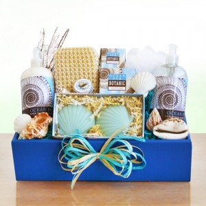 Spa Gift of Ocean Treasures Gift Basket