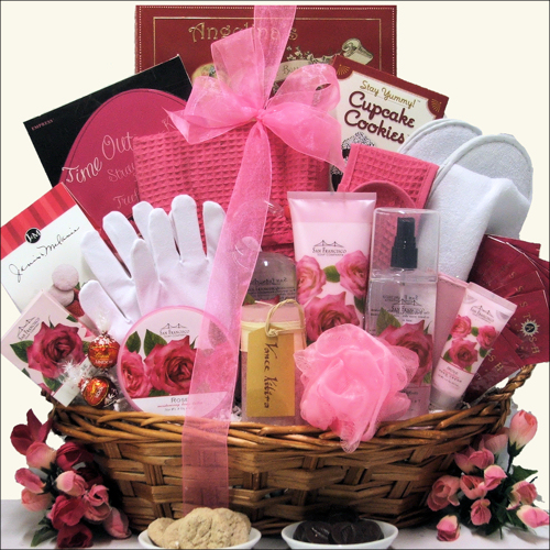 Spa Heaven: Mother's Day Bath & Body Spa Gift Basket