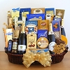 Sparkling Holiday: Gourmet Gift Basket