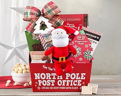 Santa's Special Delivery Holiday Gift Basket
