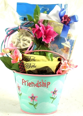 Special Friendship Gift Basket For Friends