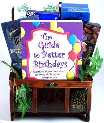 Specialty Birthday Gift Basket