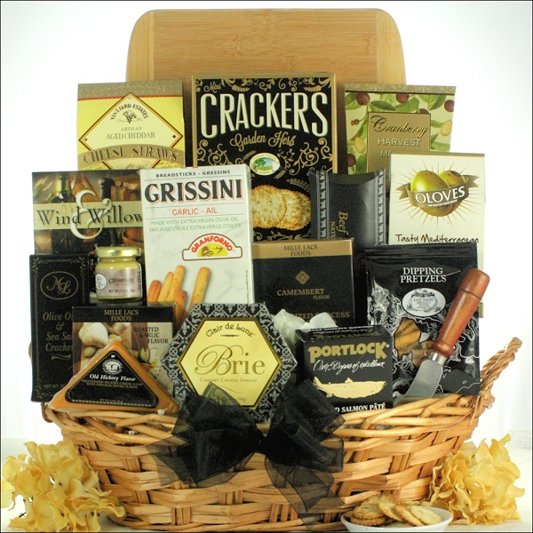 Specialty Cheese Gift Basket