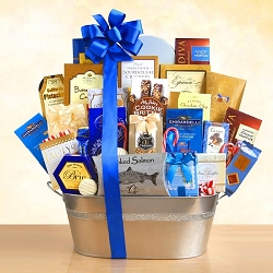Spectacular Holiday Gourmet Gift Basket