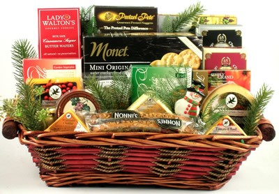 Specialty Gourmet Cheese Gift Basket