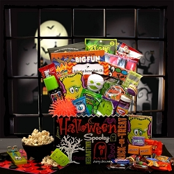 Spooky Halloween Games and Fun Gift Basket