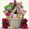 Blooming Gourmet & Wine Gift Basket