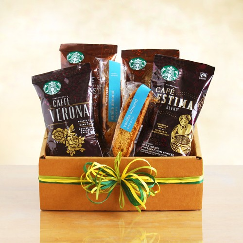Starbucks Delights: Gift Basket