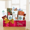 Starbucks Sparkles Holiday Greetings Gift Basket